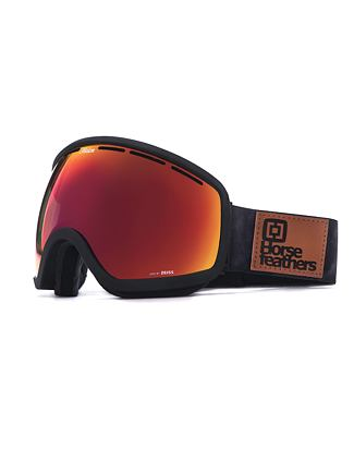 HF x Melon Optics okuliare na snowboard Chief - gray camo/red chrome