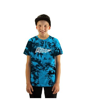 Tričko Flash Youth - blue tie dye