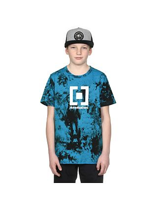 Tričko Base Youth - blue tie dye