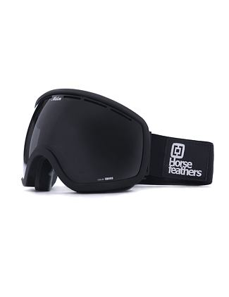 HF x Melon Optics okuliare na snowboard Chief - all black/black matt