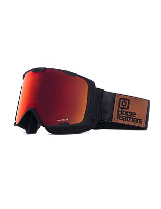 HF x Melon Optics okuliare na snowboard Parker - gray camo/red chrome