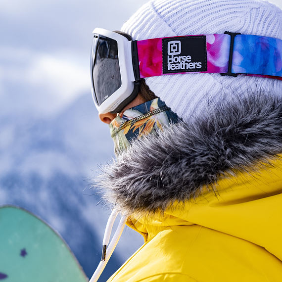 HF x Melon Optics okuliare na snowboard Chief - candy