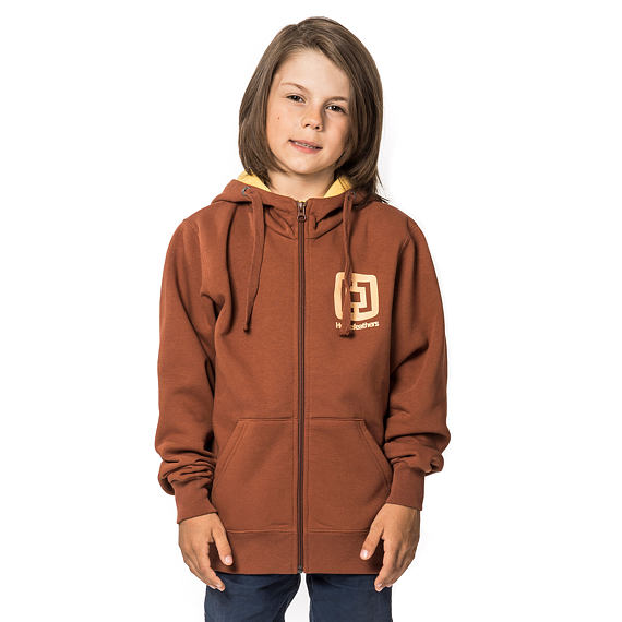 Mikina Mini Logo Kids - copper
